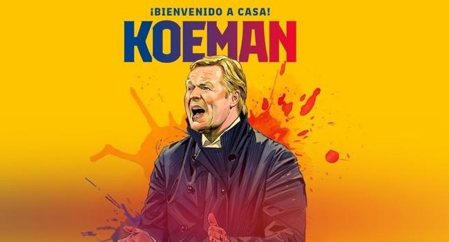 Barcelona'nın yeni patronu Koeman