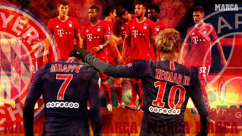 Finalin adı Bayern-PSG