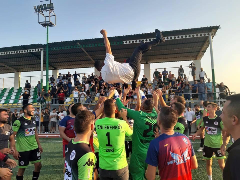 Şeren'in sekizinci şampiyonluk gururu