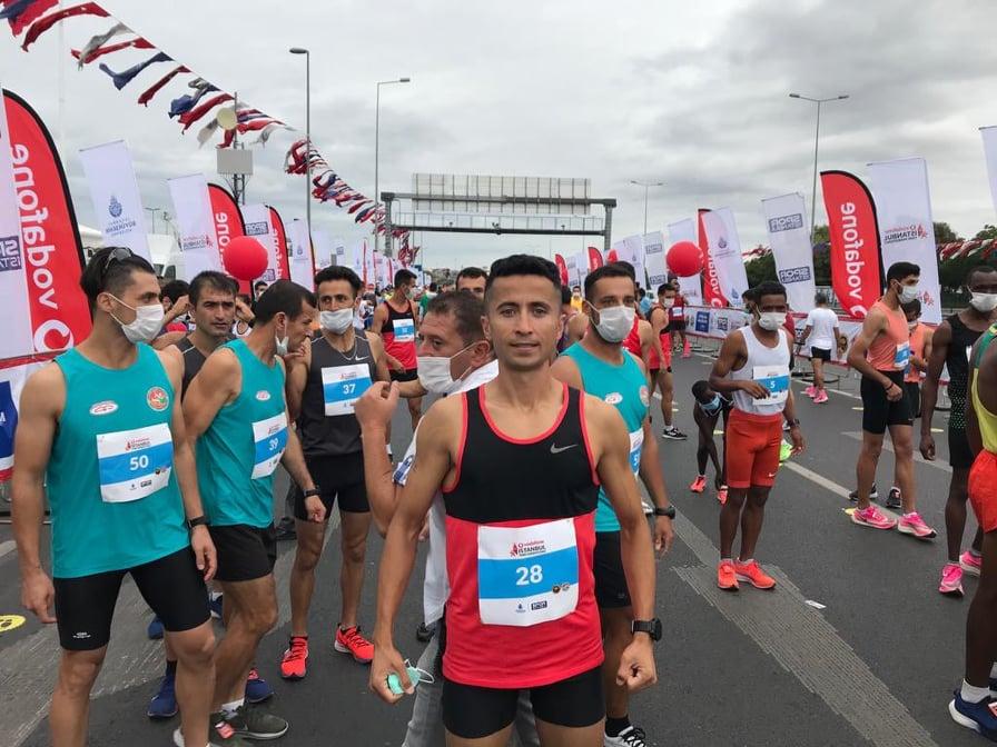 HakanTazegül Vodafone Maratonunda Birinci