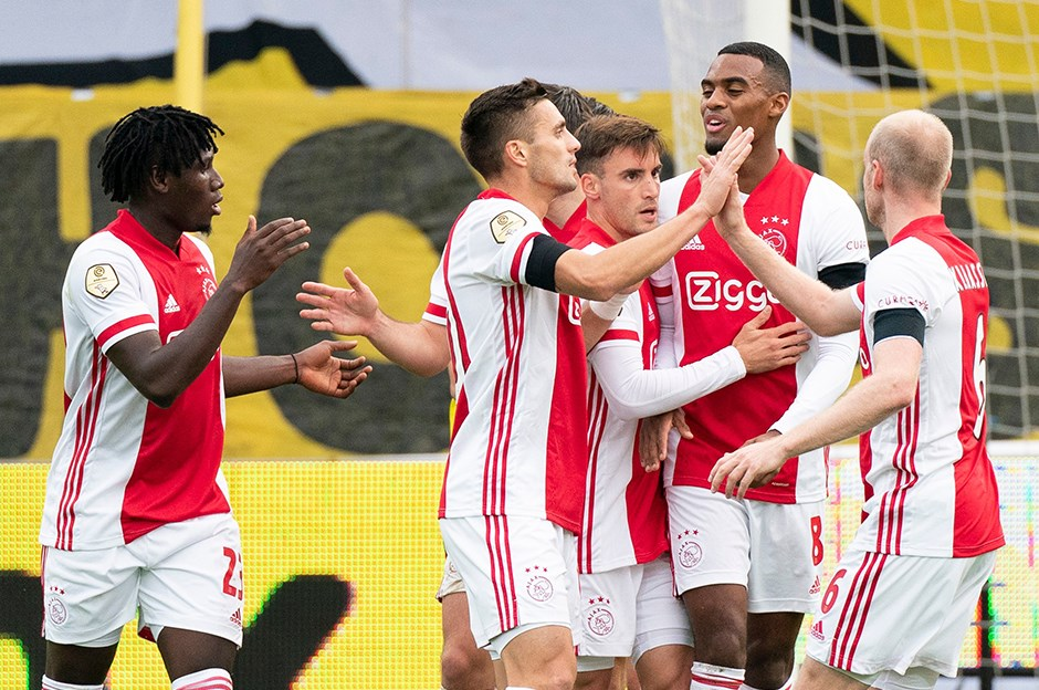 Ajax'tan tarihi skor