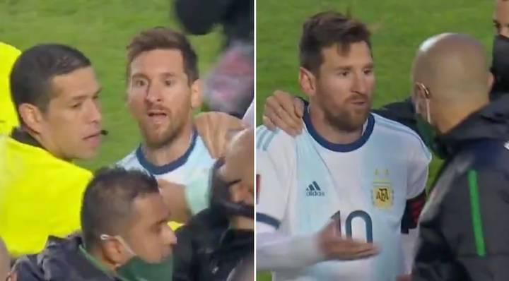 Messi çileden çıktı! Bolivya – Arjantin maç sonu olay