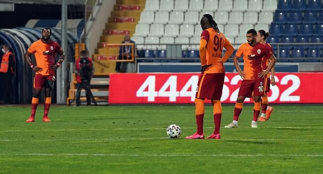 Galatasaray'ın ilk yenilgisi Kasımpaşa'dan