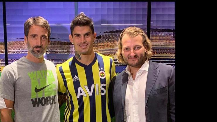 Diego Perotti resmen Fenerbahçe'de