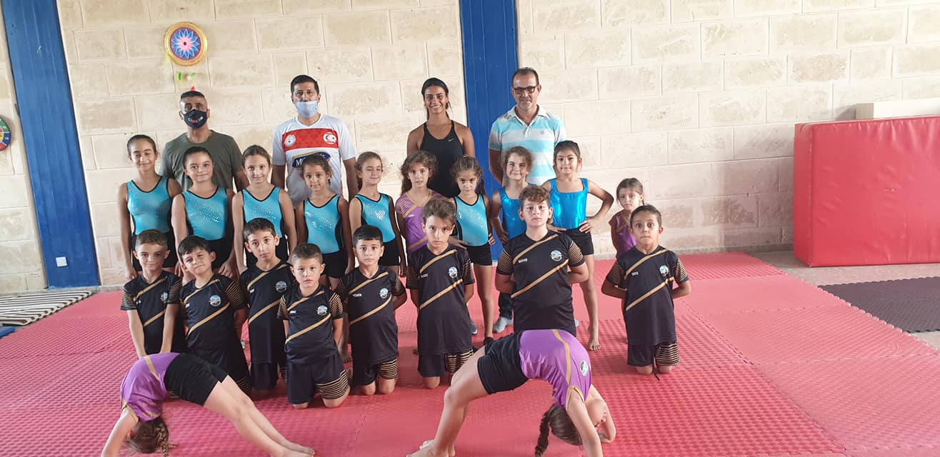 Sapsızoğlu ve ekibi, Erenköylü cimnastikçilerle buluştu