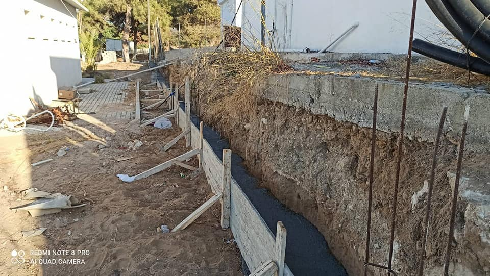 Kaplıca'da çimlendirme çalışmaları hızlandı