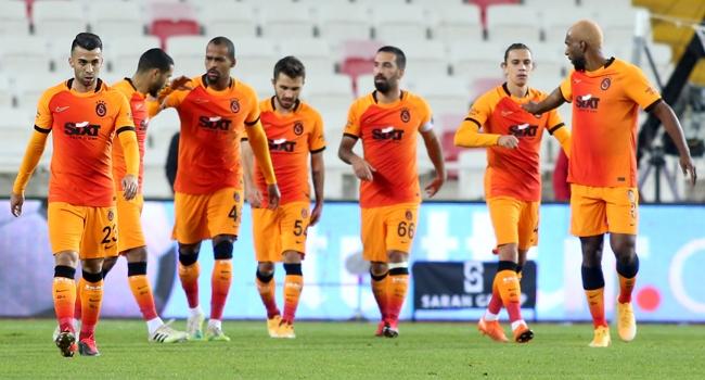 Galatasaray, Sivas'tan 3 puanla çıktı