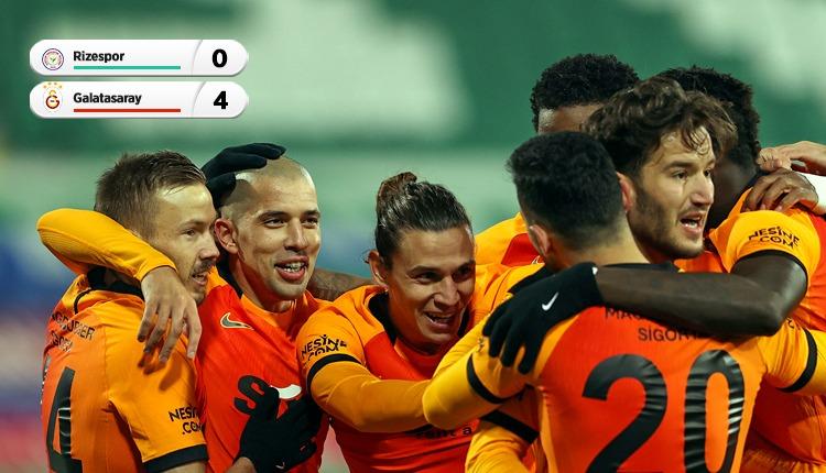 Galatasaray rahat kazandı