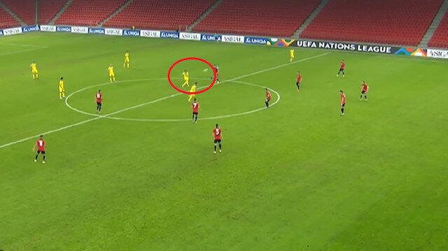Kazakistan'dan ilginç gol