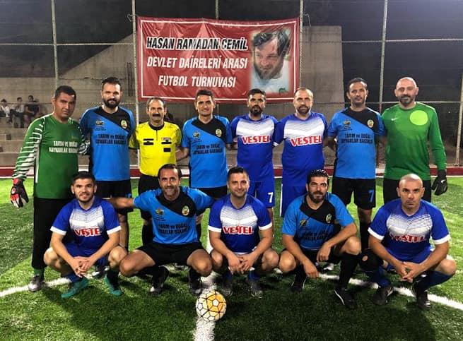 Hasan Ramadan Cemil Devlet Daireleri Arası Halı Saha Futbol Turnuvası'nda 3. Hafta tamamlandı