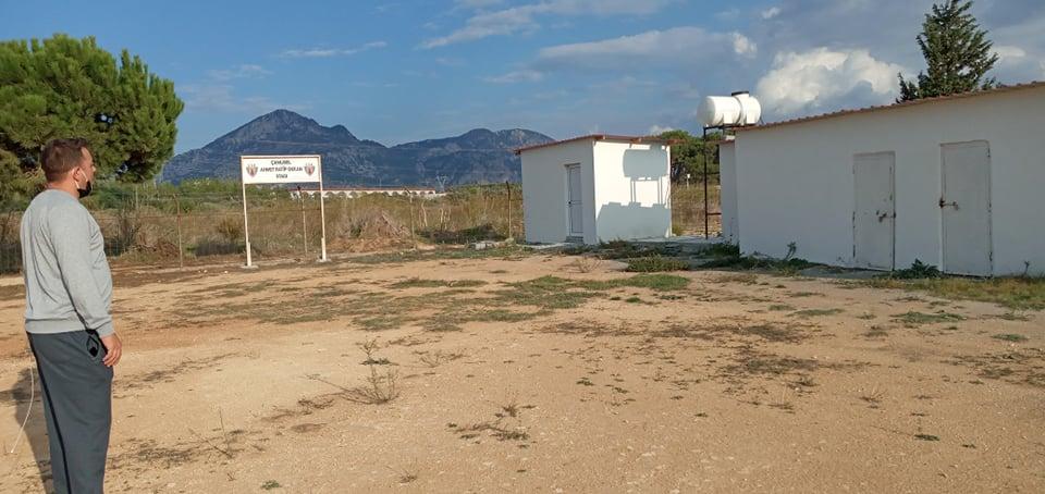 Çamlıbel'de hedef çim saha