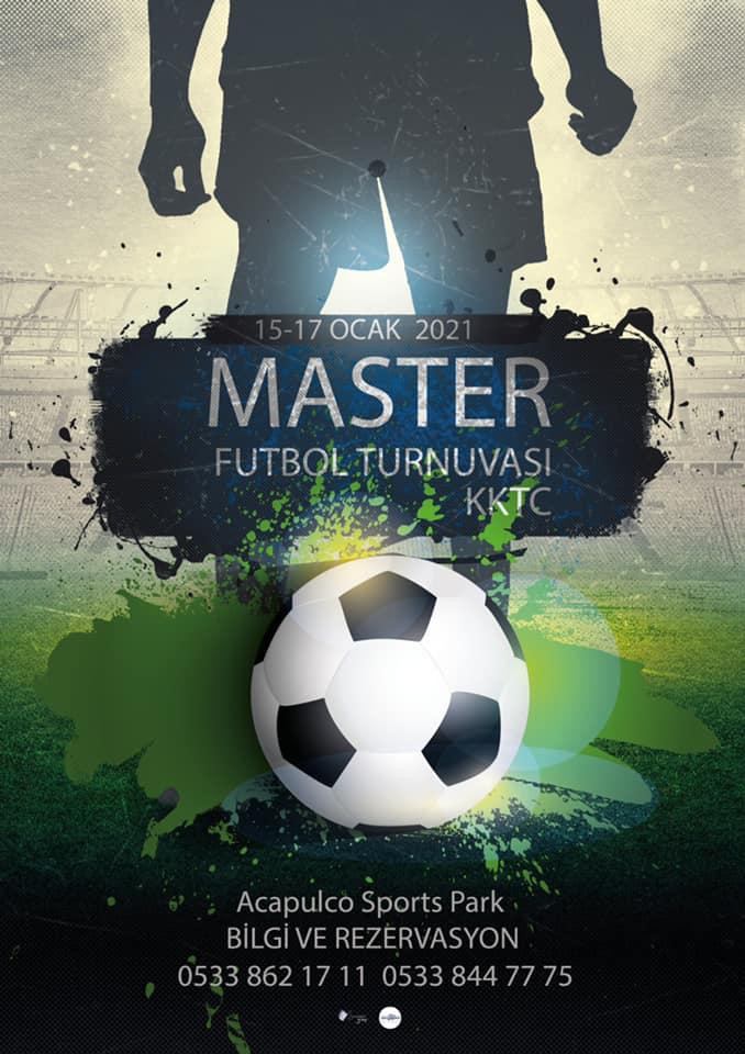 KKTC Master Futbol Turnuvası düzenlenecek