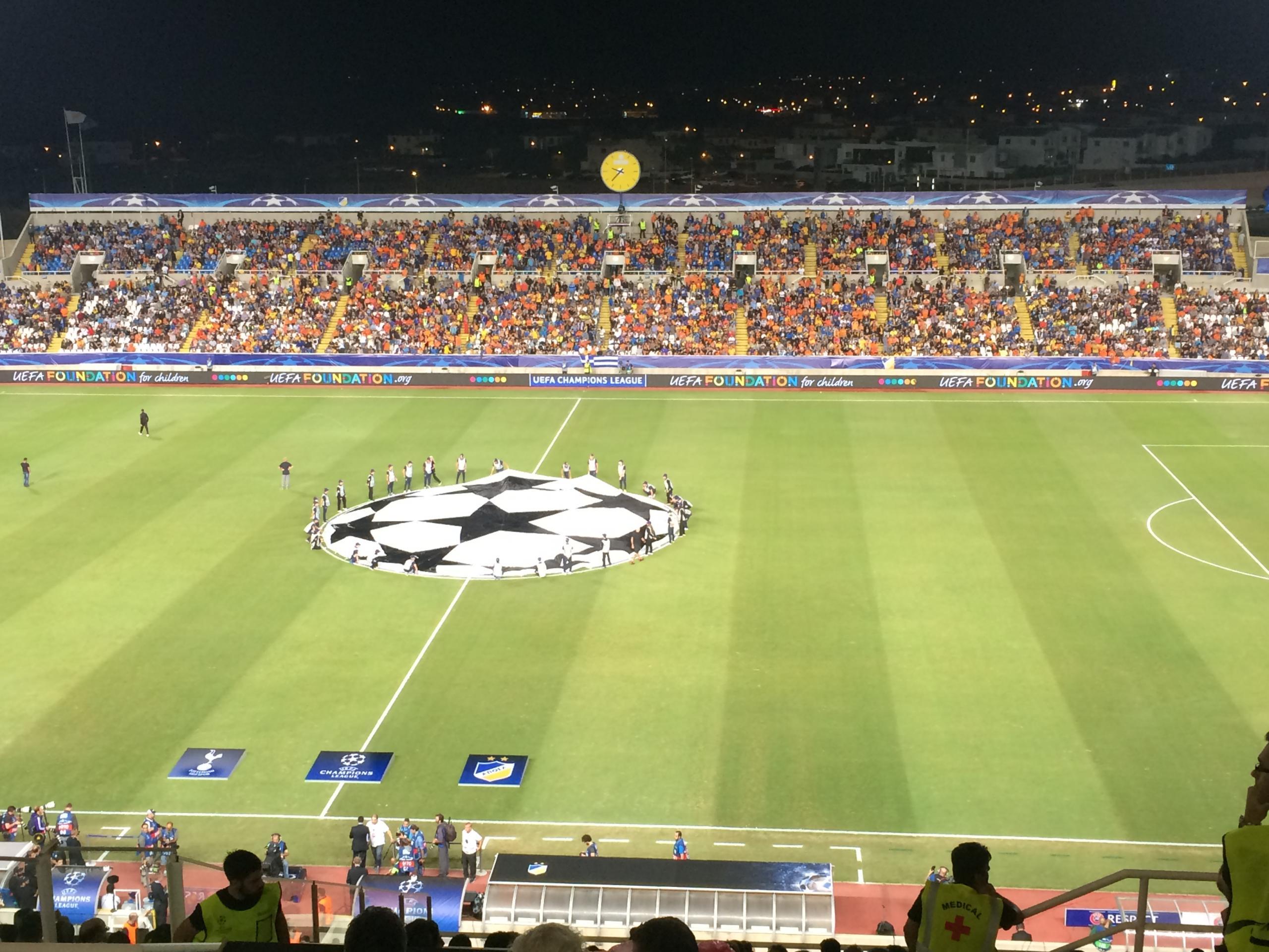 Apoel, Beşiktaş'ı geçti
