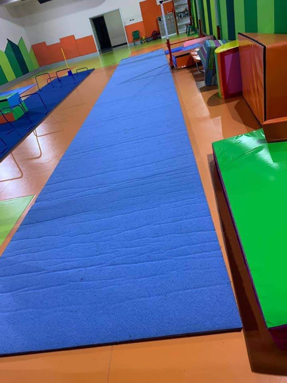 Cimnastik Federasyonunun yardımları devam ediyor