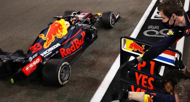 Sezonun son yarışı Verstappen'in