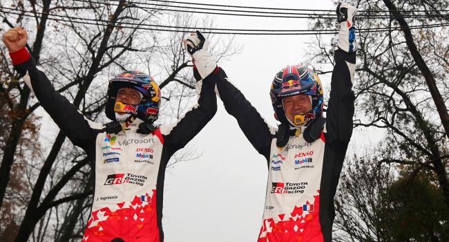 Sebastien Ogier, WRC'de 7. kez şampiyon