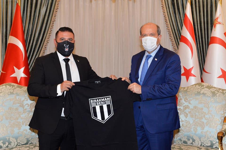 Tatar: KKTC'de futbola ilgi büyük