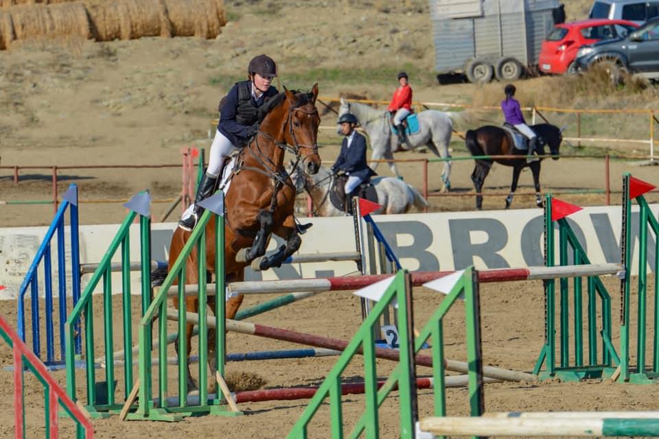 Atlar engelleri atladı