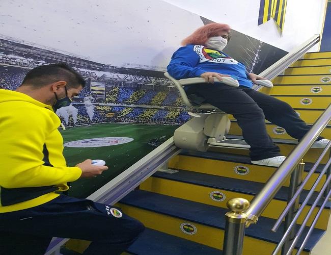 Fenerbahçeliler Derneğinin lokali engelsiz
