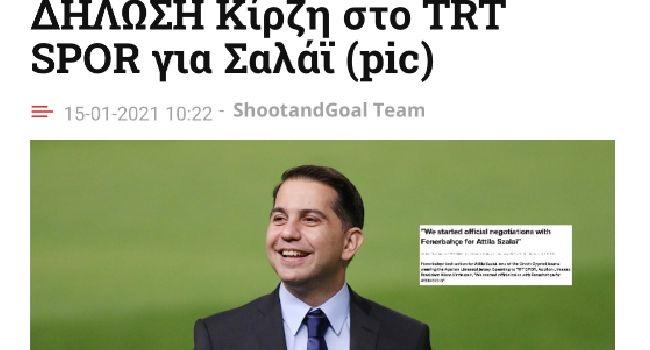 Apollon başkanı TRT Spor'da