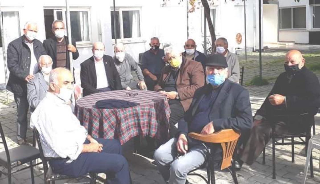 Tatar, Yenicami'yi ziyaret etti
