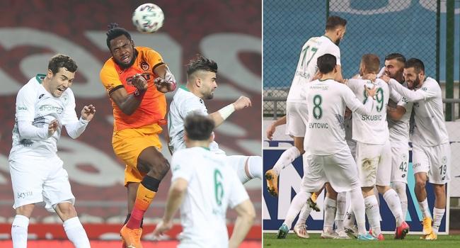 Galatasaray, Konya'da kayıp