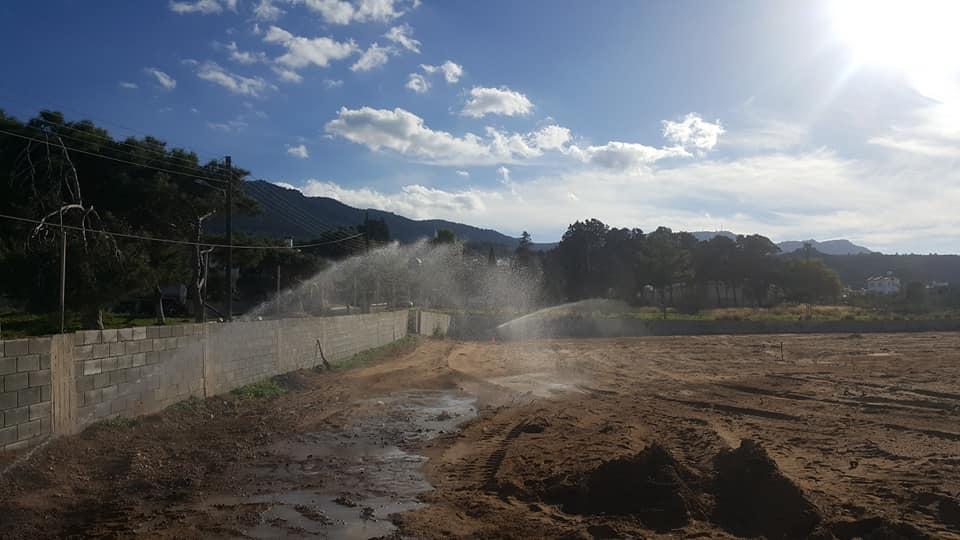 Kaplıca Sahasına su aktı