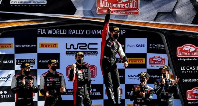 Monte Carlo'da kazanan Sebastien Ogier