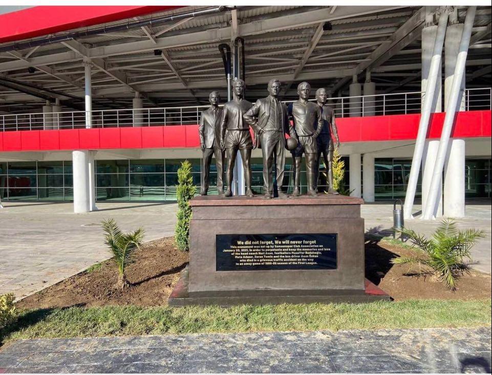 Futbol Şehitleri Anıtı, 19 Mayıs Stadında