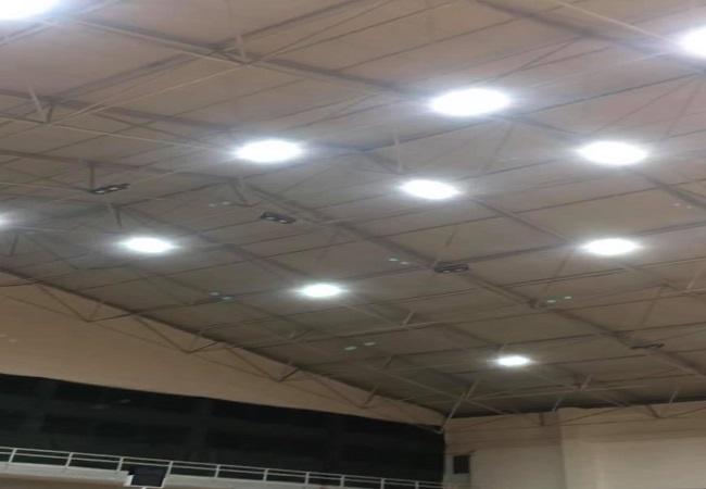 Apakan Spor Salonunda aydınlatma sorunu