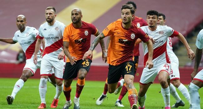 Galatasaray, Antalyaspor'a takıldı
