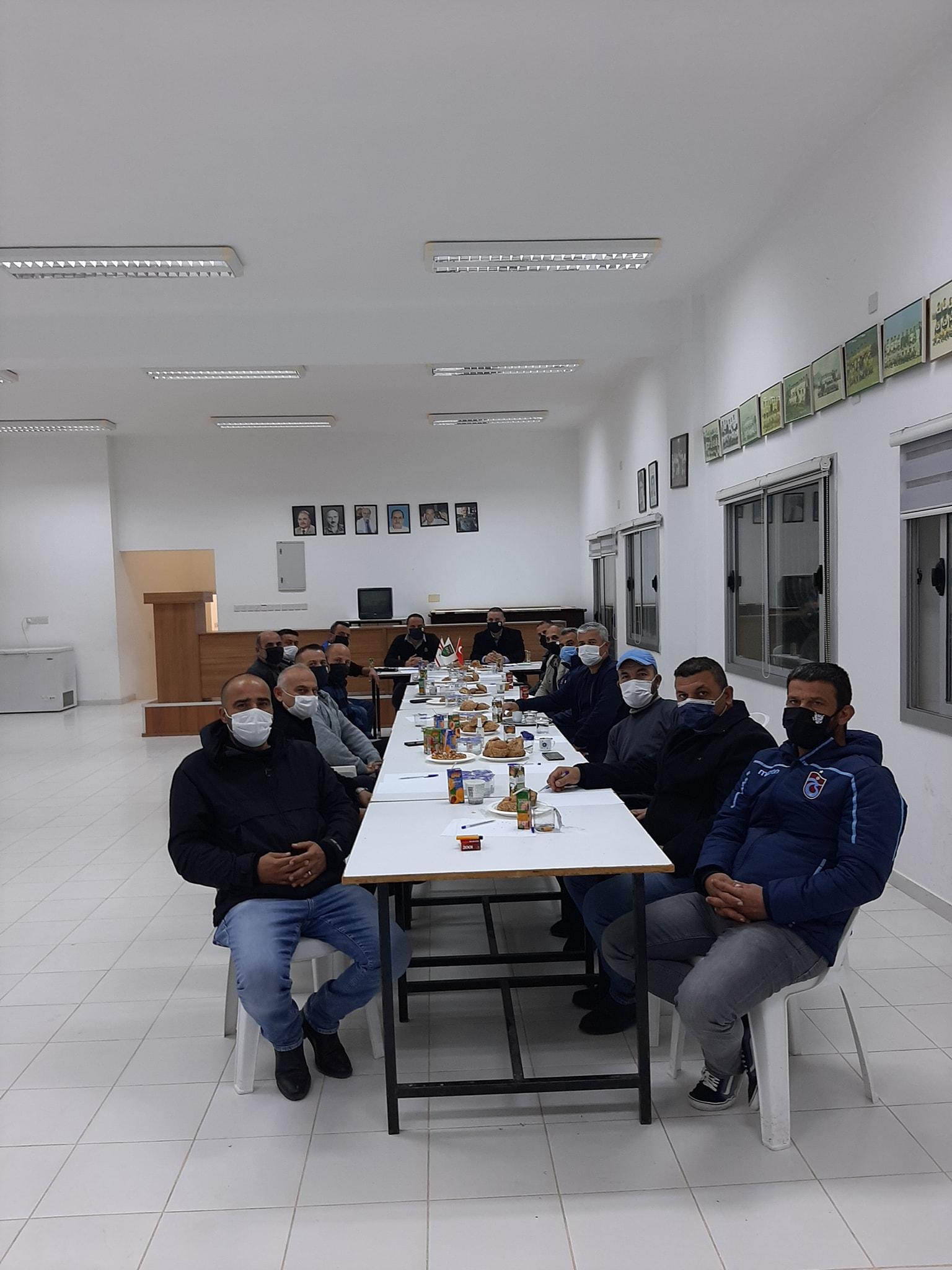 Erbay yönetiminden ilk toplantı