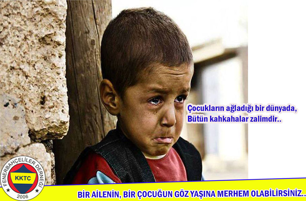 Fenerbahçeliler yardım kampanyası organize etti