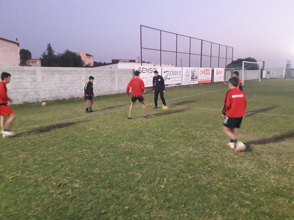 Hamitköy U20 Takımı çalışıyor