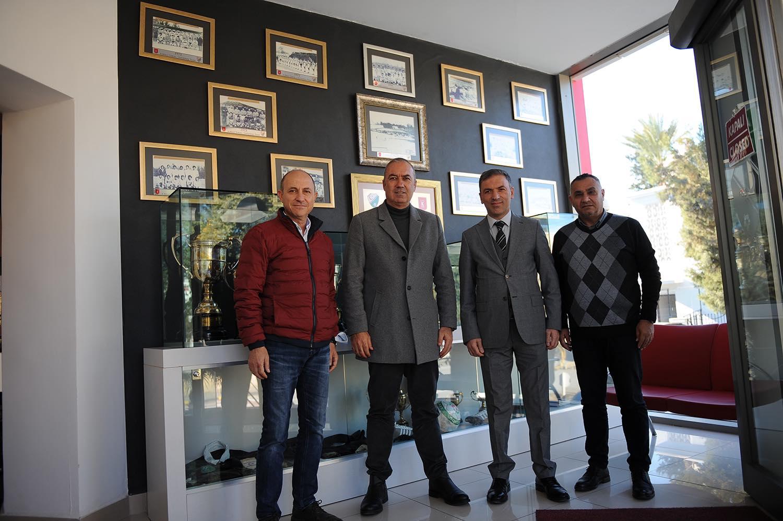 Kıbrıs Türk Futbol Müzesi için görüşme gerçekleşti