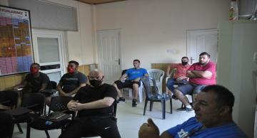 Hentbolda kulüplerle toplantı gerçekleşti