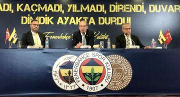 """Fenerbahçe'den """"Futbolda şike kumpası"""" ile ilgili açıklama"""